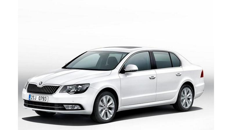 Skoda Auto reveals 2013 Superb facelift, launch expected this year