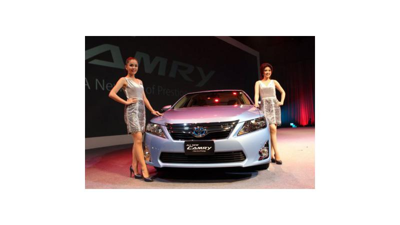 New Toyota Camry Hybrid: First hybrid car produced in India