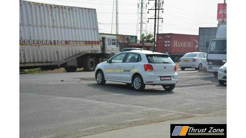 2017 VW Polo GT TDI snapped testing