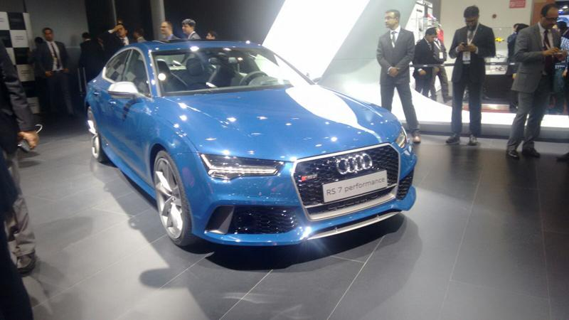 2016 Auto Expo: Audi unveils new R8 V10 Plus and RS7 Performance