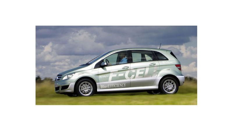 Mercedes B-Class F-Cell Unveiled