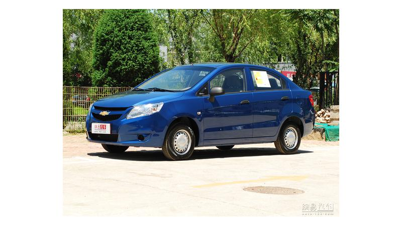 Chevrolet Sail spotted in China, expected to be launched in Indian market