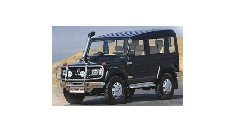 Force Motors Gurkha SUV launched in India, starts from Rs. 6.25 lakhs