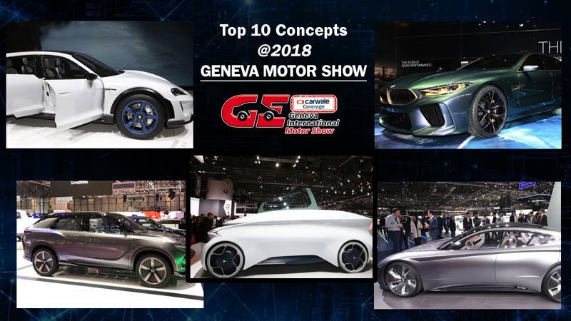 Top 10 concepts showcased at 2018 Geneva Motor Show