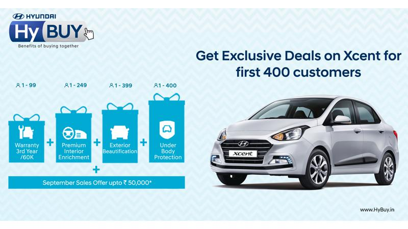 Hyundai launches second edition of HyBUY program for Xcent customers