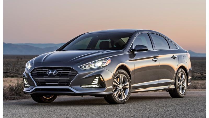 Facelifted Hyundai Sonata makes its US debut at New York