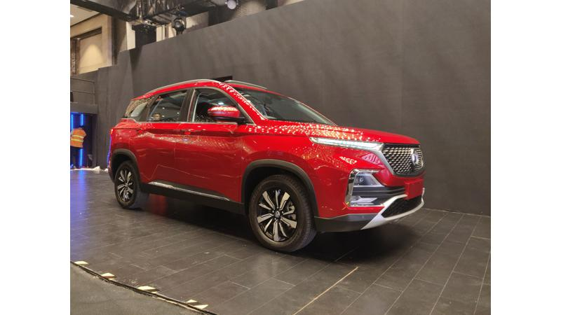 MG Hector booking commence at Rs 50,000