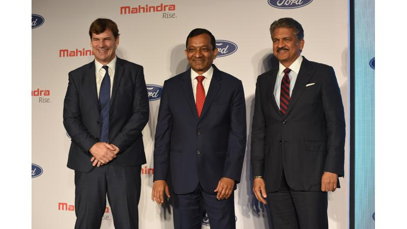 Mahindra and Ford announce collaboration, three new utility vehicles to be launched