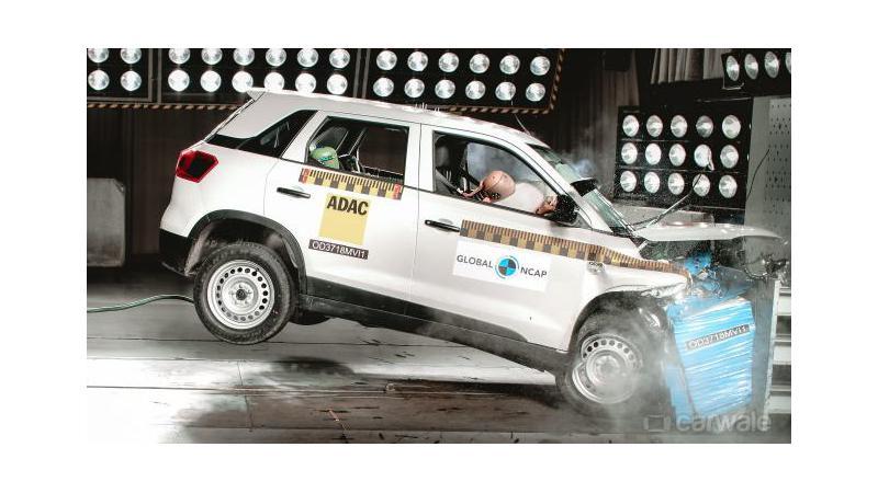 Maruti Suzuki Vitara Brezza gets four-star GNCAP rating