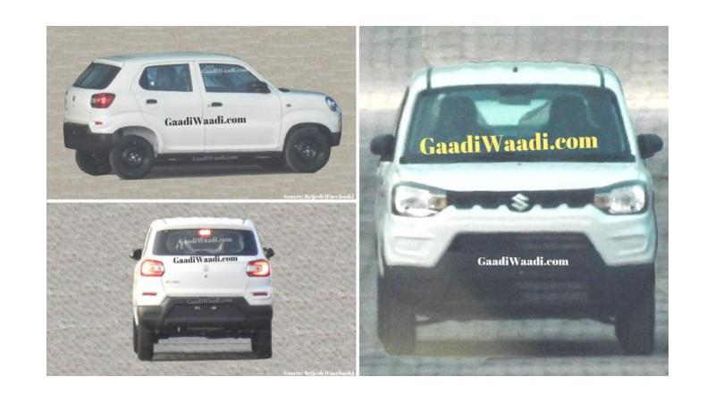 Maruti Suzuki S-Presso exterior fully leaked