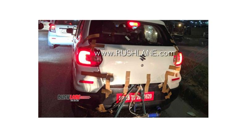 Maruti Suzuki S-Presso CNG variant spotted testing