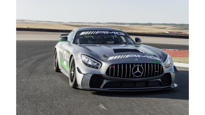 Mercedes-AMG reveals the new AMG GT4