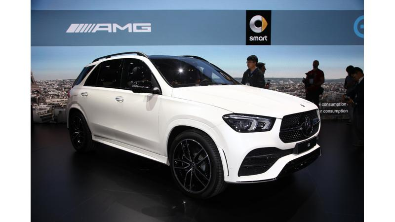 2018 Paris Motor Show: Mercedes-Benz officially unveils the second generation GLE SUV