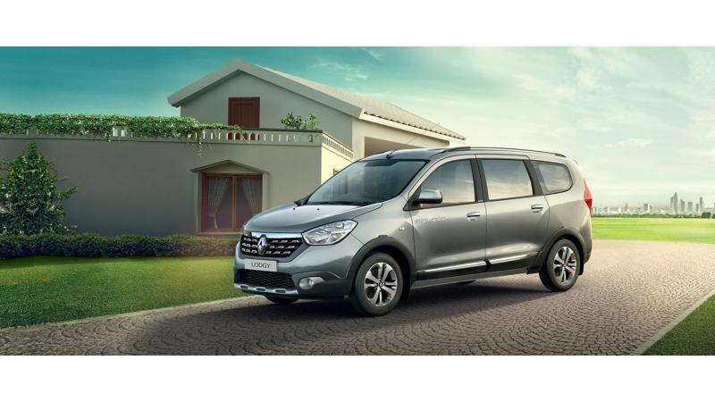 Renault Lodgy 85PS Stepway launched at Rs 9.43 lakh