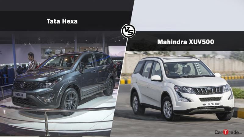 Budget comparison: Mahindra XUV500 W6 Vs Tata Hexa XM