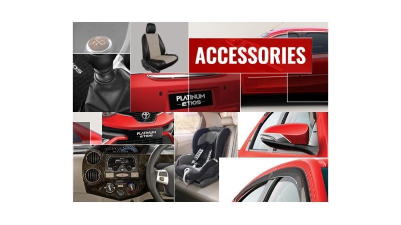 4 best accessories for the Toyota Platinum Etios