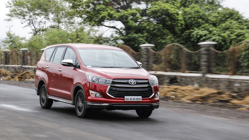 Toyota earns big numbers thanks to the Innova Crysta