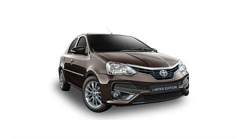 Limited Edition Toyota Platinum Etios launched at Rs 7.84 lakhs