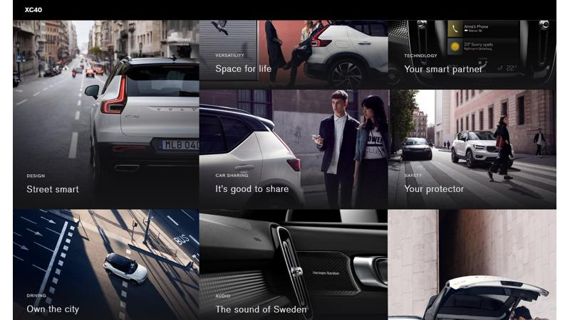 Volvo India website lists XC40 hinting at early 2018 launch