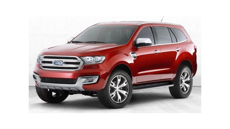 2016 Ford Endeavour to officially launch on 20th January
