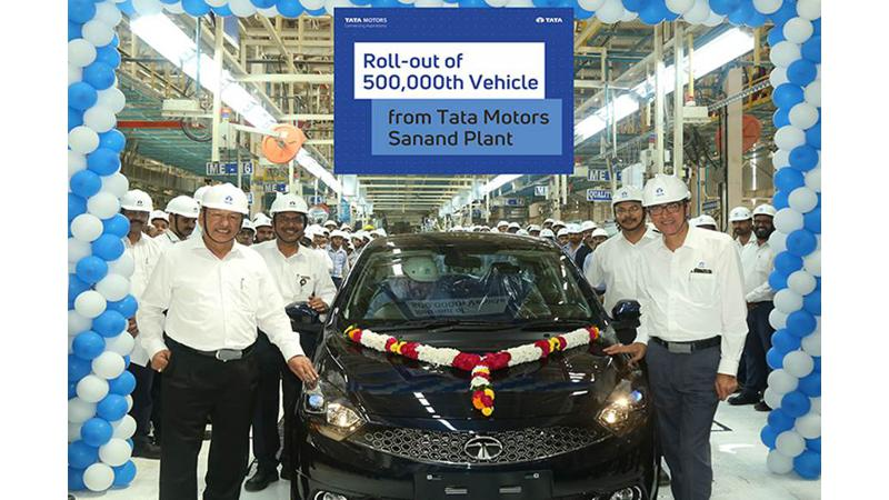 Tata Motors Sanand facility crosses 5 lakh production milestone