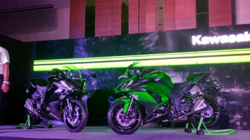 Kawasaki launches 2017 Ninja 1000
