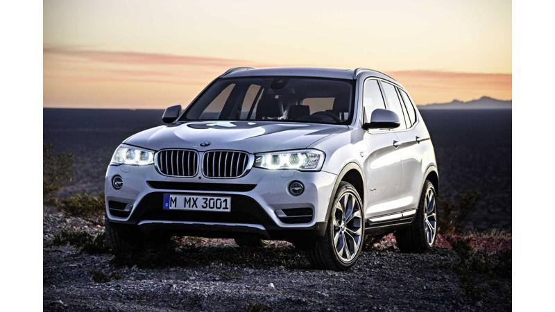 Five new SUVs from BMW are India bound