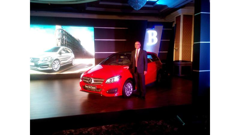 2015 Mercedes-Benz B-Class Facelift launched at Rs. 27.95 lakh in India