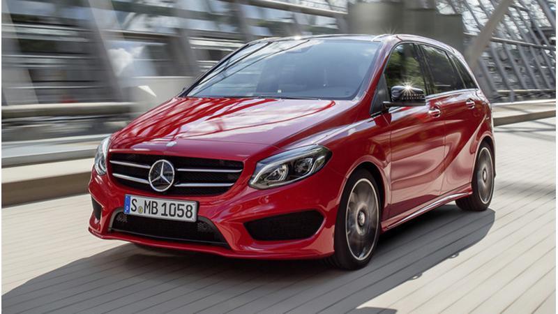 2015 Mercedes-Benz B-Class facelift launching today