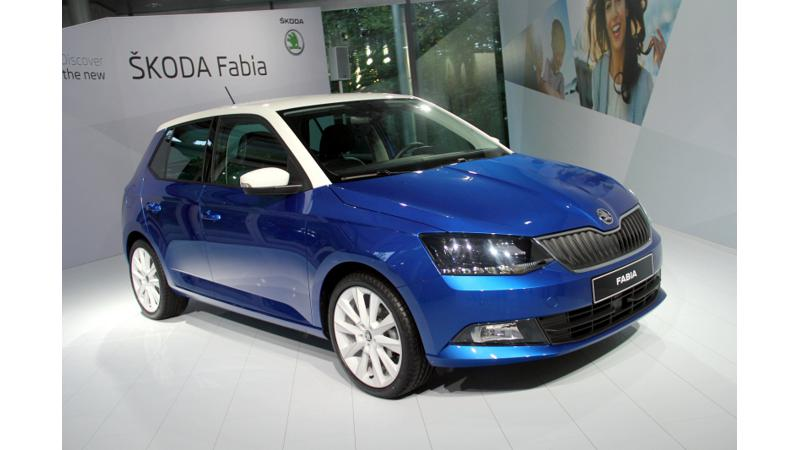 2015 Skoda Fabia earns full 5-Star rating in the Euro NCAP crash test