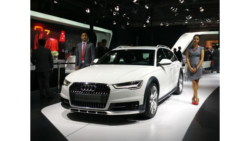 2016 Auto Expo: Audi India unveils its new range of vehicles