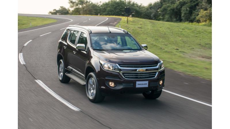 Chevrolet reveals 2016 Trailblazer facelift