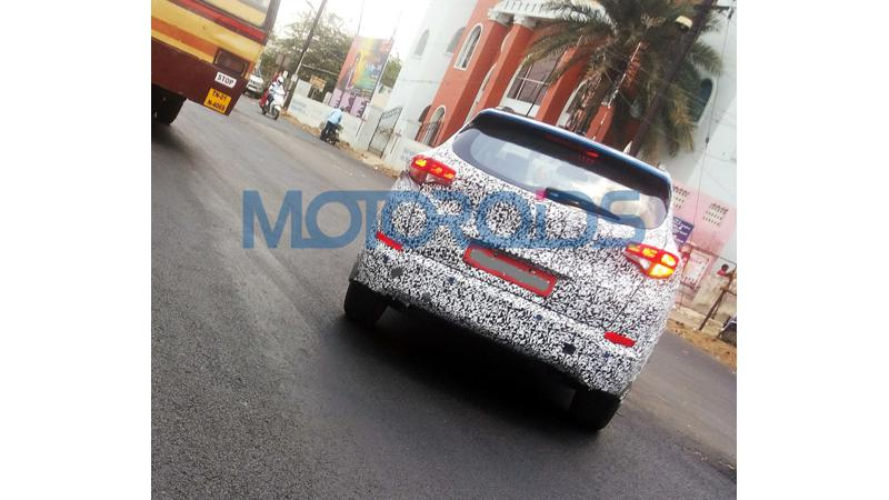 2016 Hyundai Tucson spied testing in India for the first time