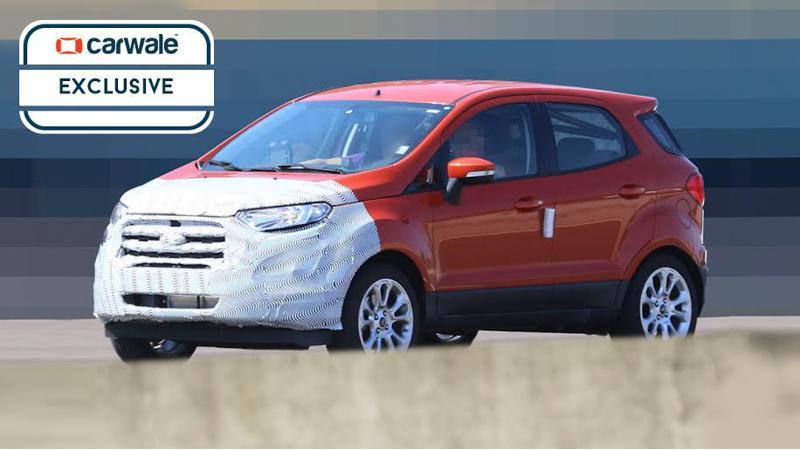 2017 Ford EcoSport revealed in fresh spy shots
