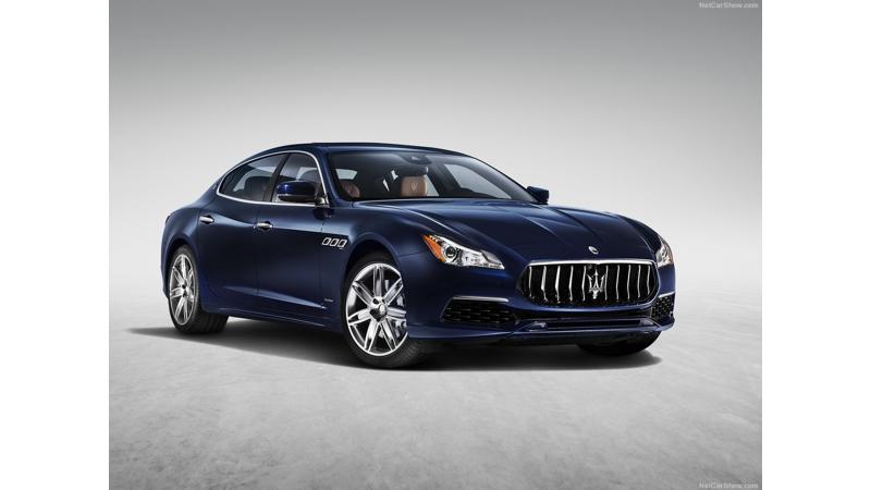 Maserati launches 2017 Quattroporte