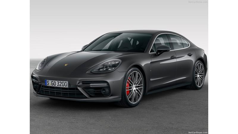 2017 Porsche Panamera unveiled in Germany