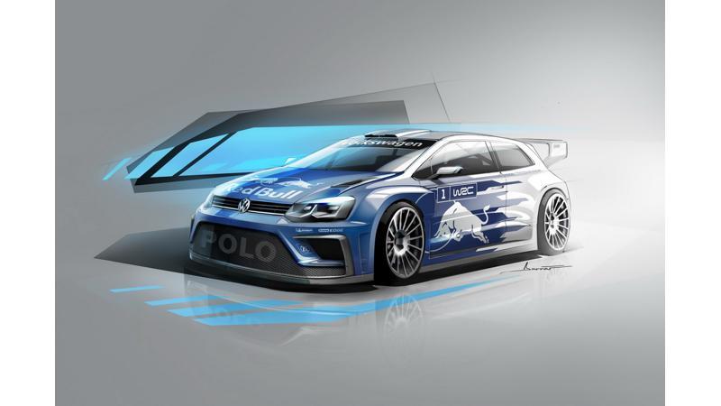 2017 Volkswagen Polo R WRC sketch released