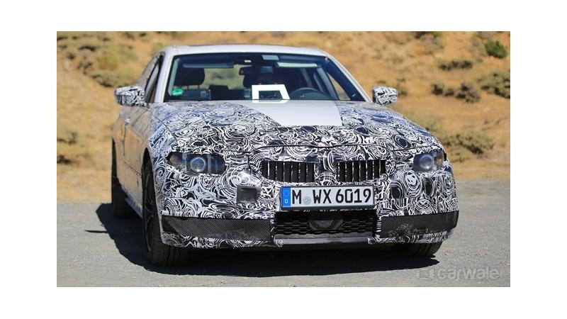 2018 BMW 3 Series test vehicle reveals shaper design philosophy