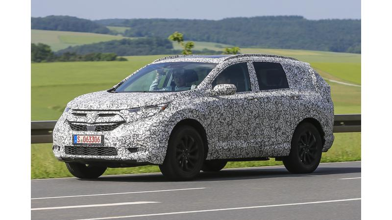 2018 Honda CR-V spotted on test