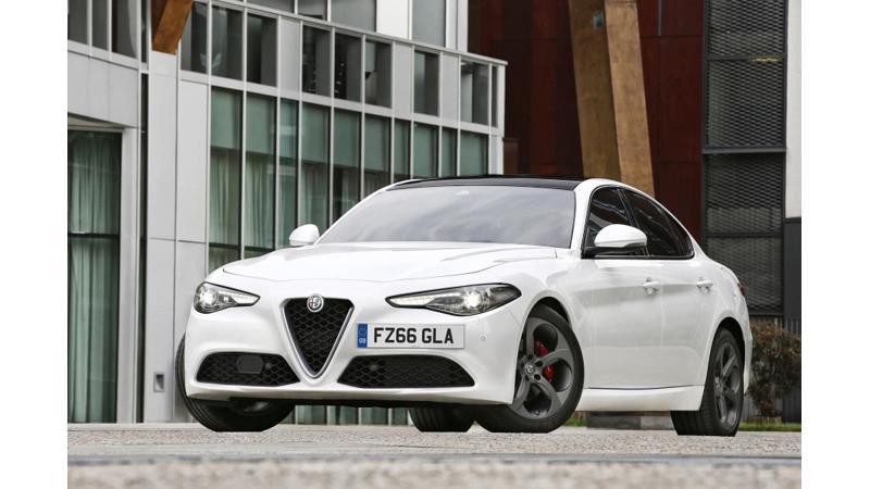 2018 Alfa Romeo Giulia officially unveiled