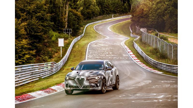 Alfa Romeo breaks Nurburgring record with the Stelvio Quadrifoglio