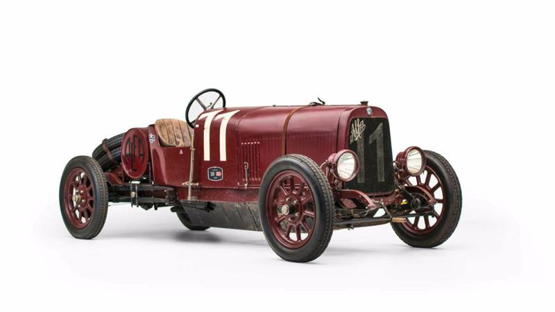 First ever Alfa Romeo to be auctioned in January 2018