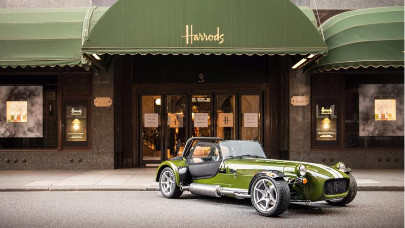 Caterham joins Harrods to roll out a special edition Seven