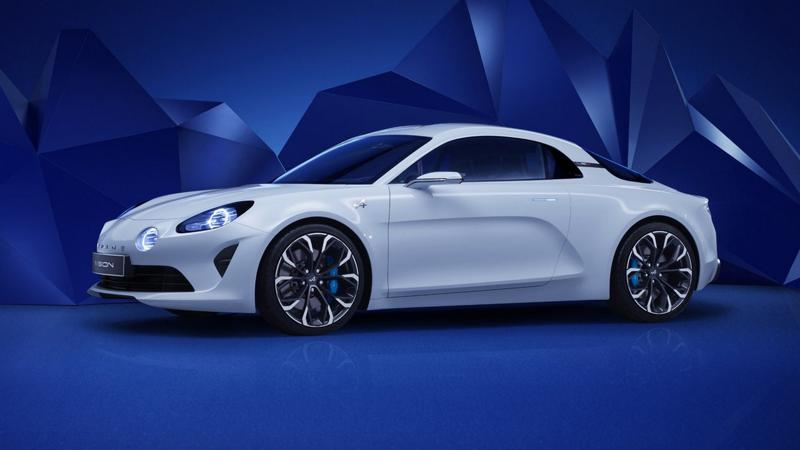 Alpine teases its new sports car with more aerodynamics