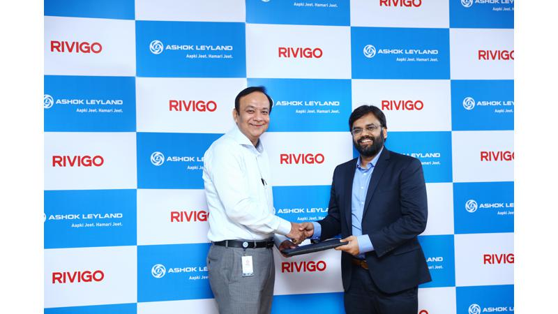 Ashok Leyland bags an order of 120Cr from a logistic company Rivigio
