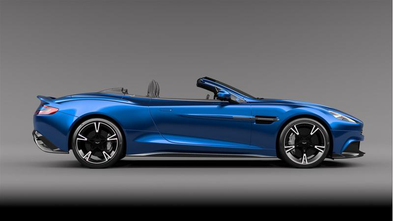 Aston Martin shows off their convertible, the Vanquish S Volante