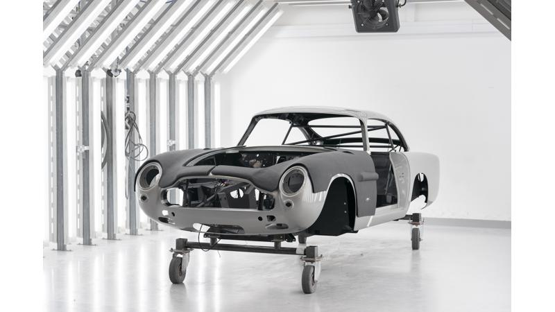 Aston Martin resurrects DB5 James Bond car from Goldfinger