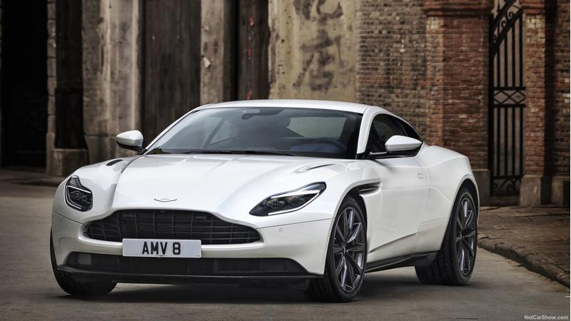 Aston Martin introduces a V8 powered DB11