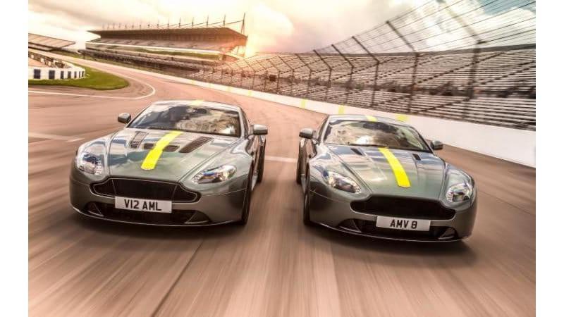 Aston Martin Vantage AMR unveiled