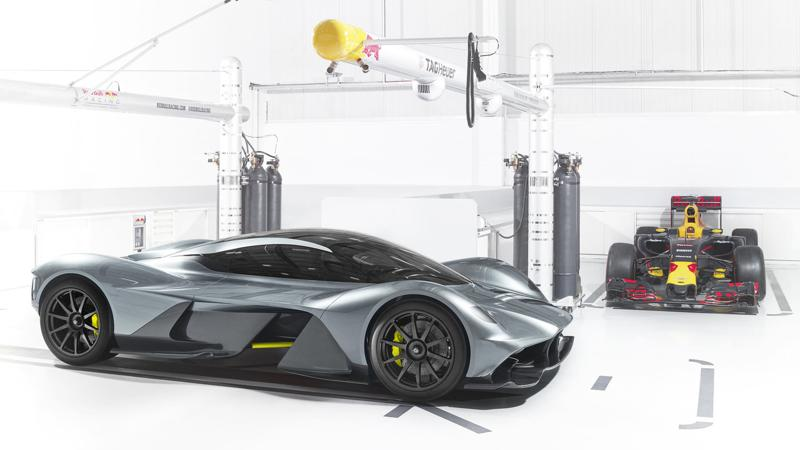 More details of the Aston Martin AM-RB 001 revealed
